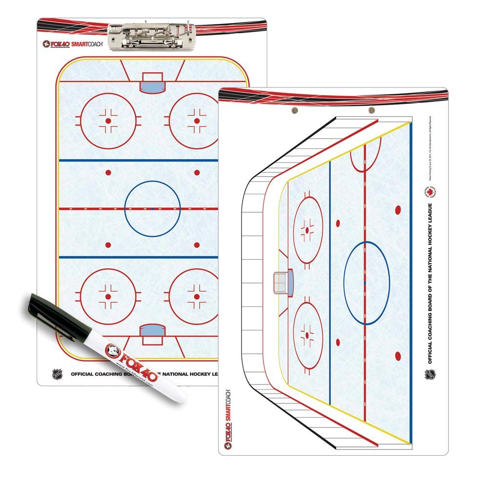 FOX 40 Pro Clipboard Hockey Coaching Board