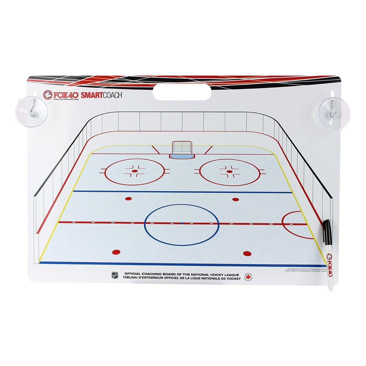 FOX 40 Deluxe Pro Clipboard + Rigid Kit International Hockey Coaching Board
