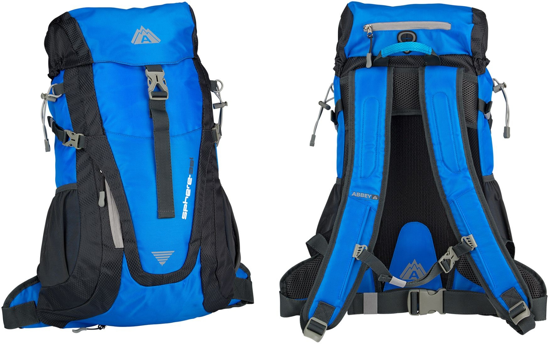 ABBEY Outdoor Areo-Fit Backpack 35L
