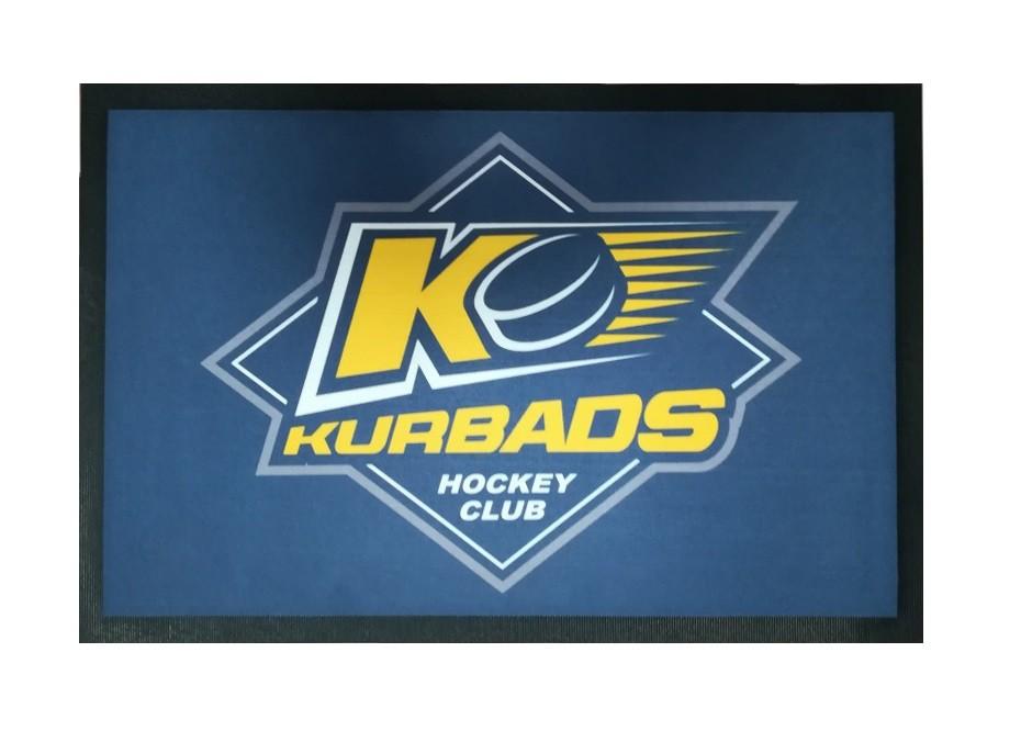 HOKEJAM.LV HK Kurbads Hockey Skate Mat