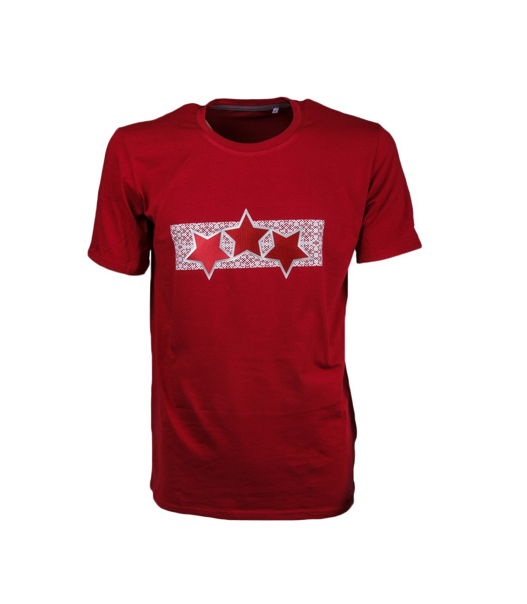 Junior Latvia Three Star T-Shirt