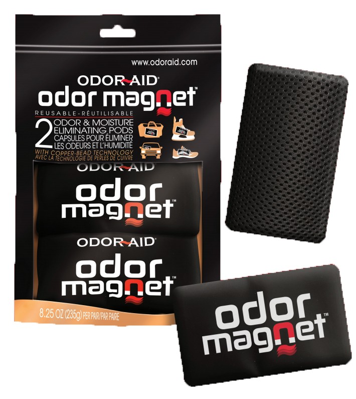 ODOR AID Magnet Pods Odor and Moisture Eliminating Pods