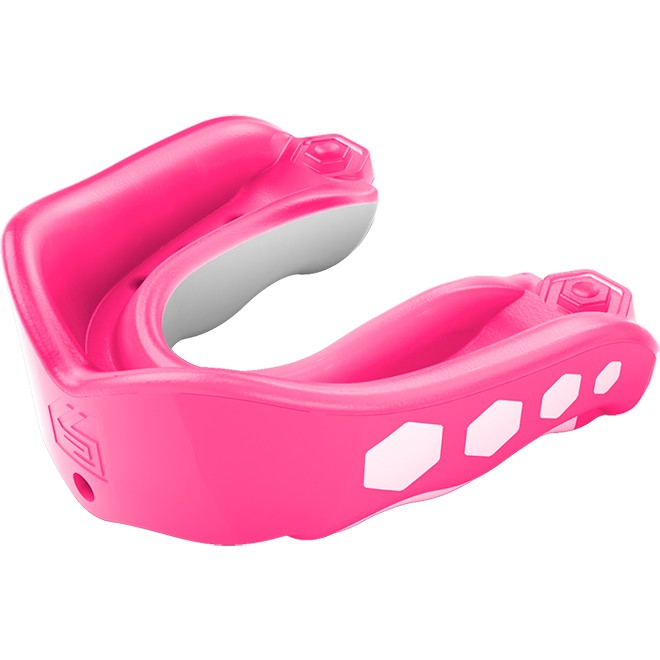 SHOCK DOCTOR Adult Gel Max Mouth Guard with Bubble Gum Flavor