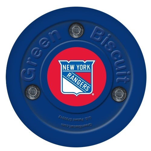GREEN BISCUIT New York Rangers Off Ice Training Hockey Puck