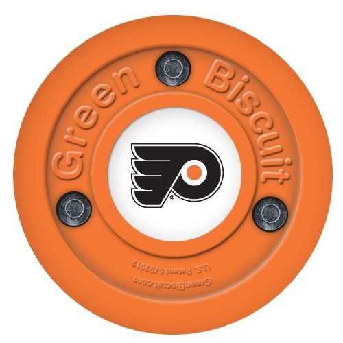 GREEN BISCUIT Philadelphia Flyers Off Ice Training Hockey Puck