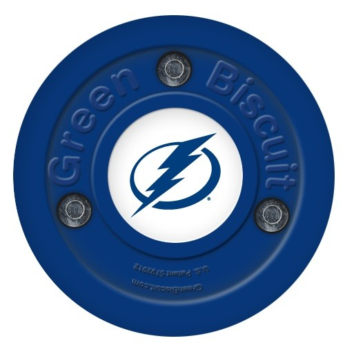 GREEN BISCUIT Tampa Bay Lightning Off Ice Training Hockey Puck