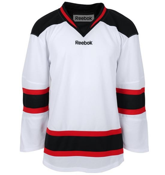Reebok New Jersey Devils Edge Adult Hockey Jersey Away