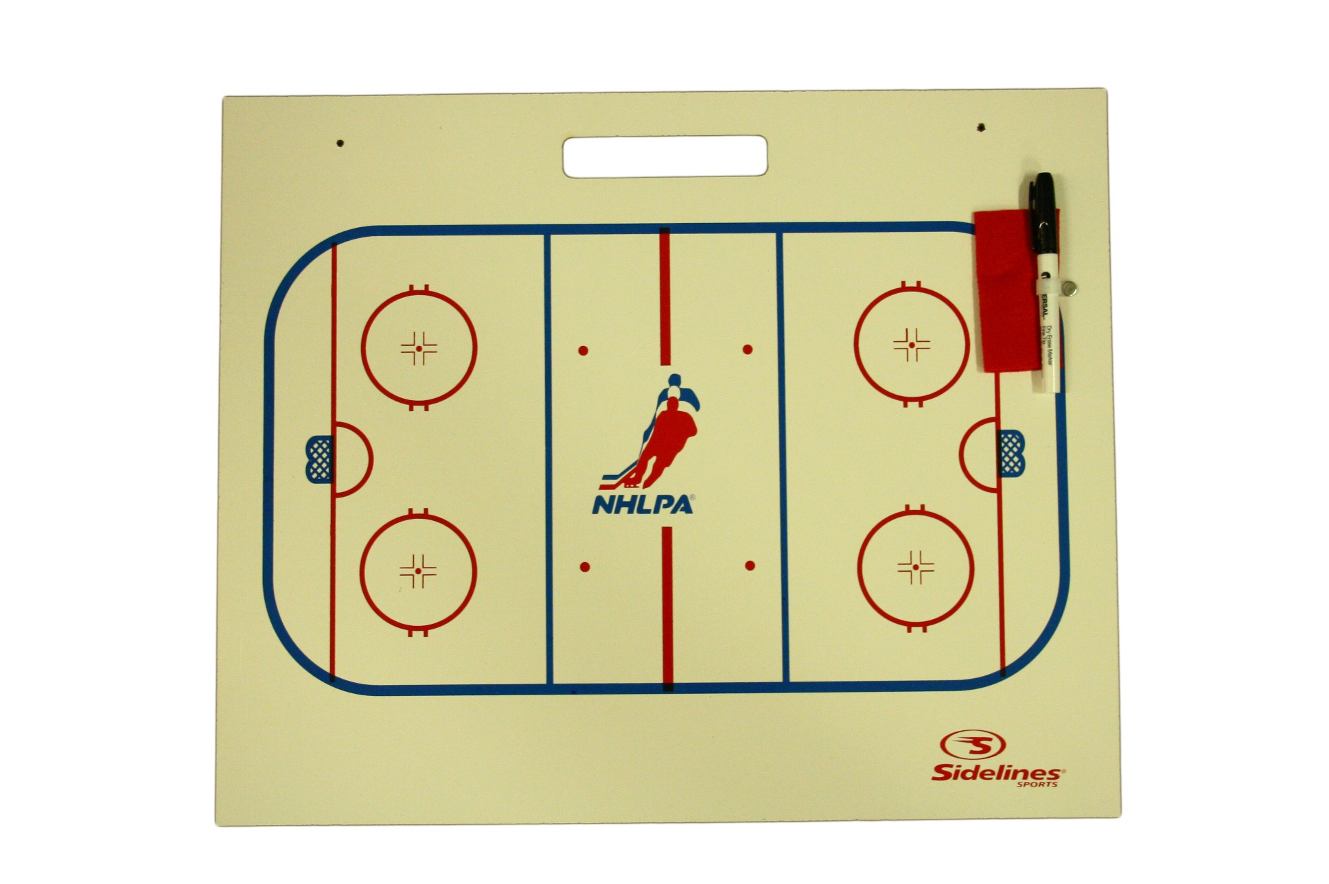 SIDELINES Sport NHLPA Coaching Training Bord on Wall