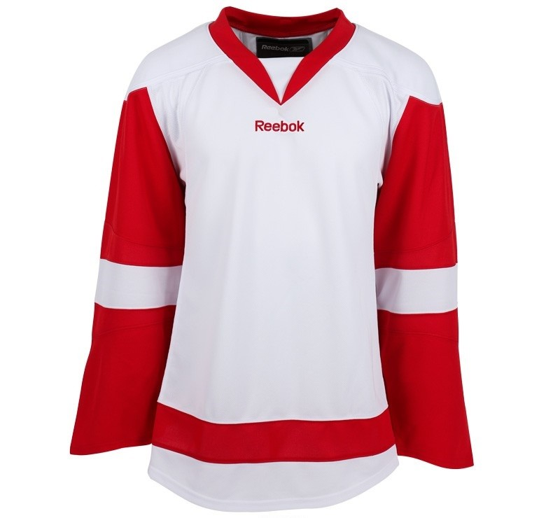 Reebok Detroit Red Wings Edge Youth Hockey Jersey Away