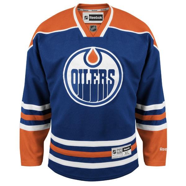 Reebok Edmonton Oilers Edge Adult Premier Jersey