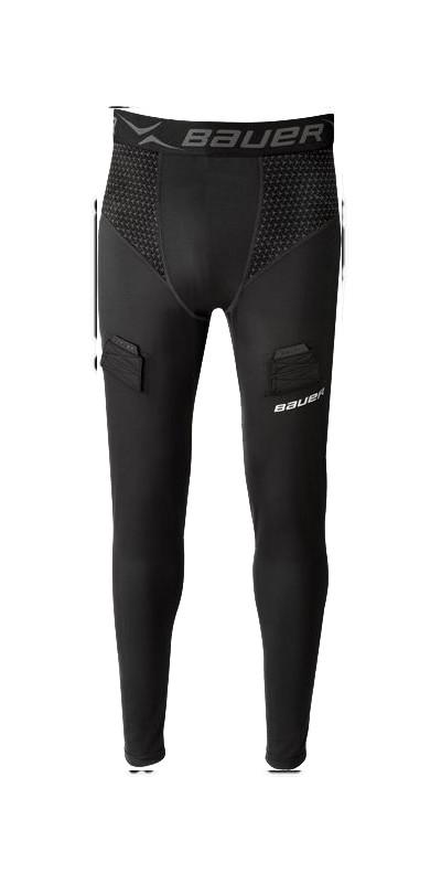 Bauer Premium Adult Long Underwear Compression Pants with Jock