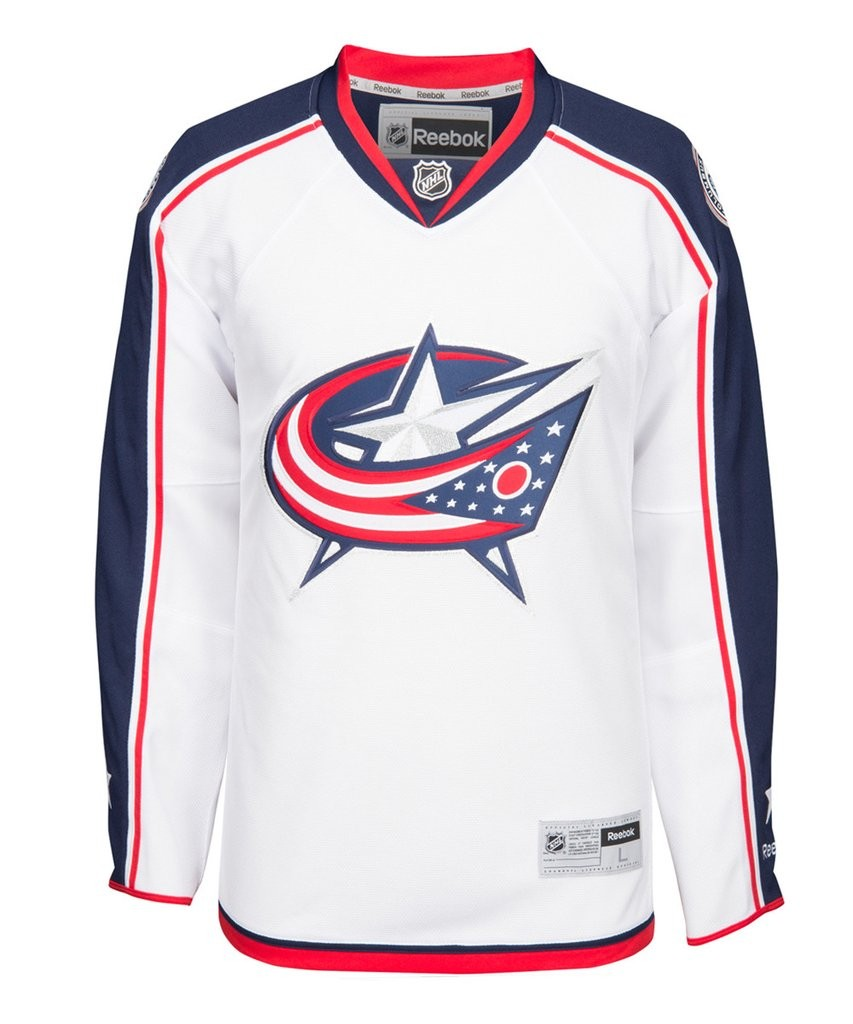 REEBOK Columbus Blue Jackets Senior Premier Jersey Away