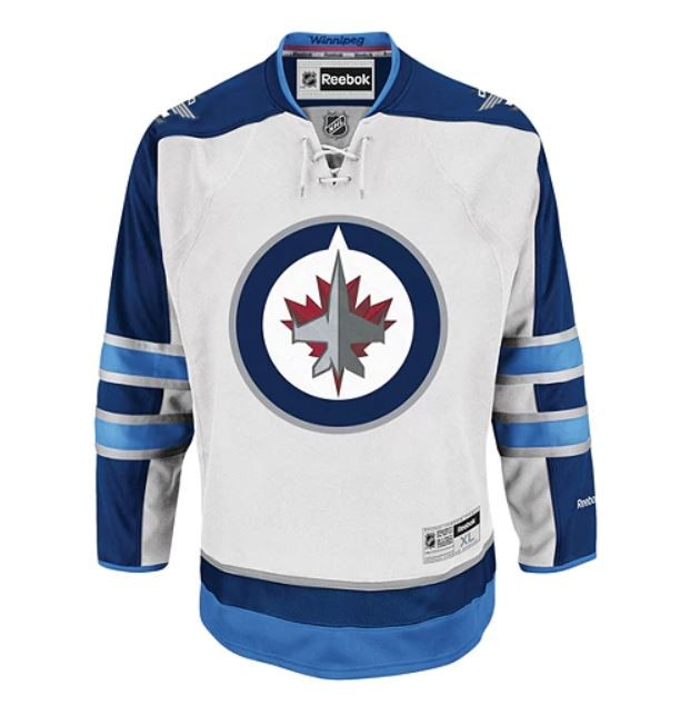 REEBOK Winnipeg Jets Senior Premier Jersey Away