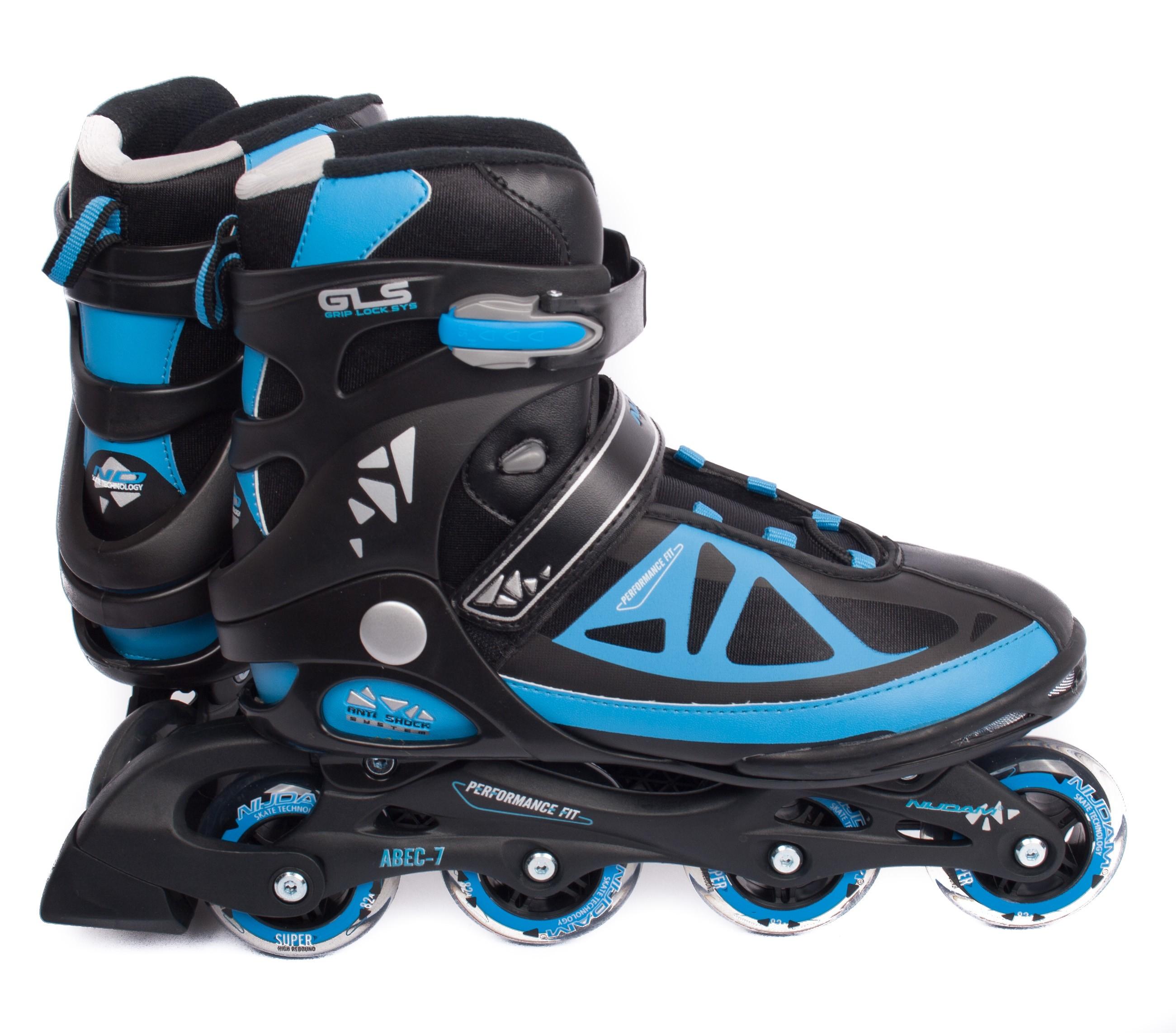 NIJDAM Semisoft boot Senior Inline Hockey Skates