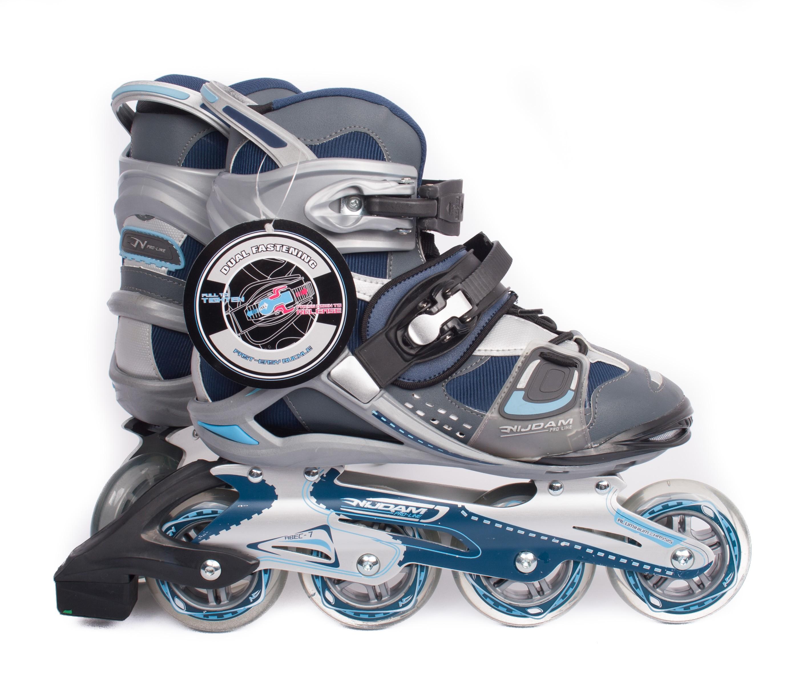 NIJDAM Pro Line Senior Inline Hockey Skates