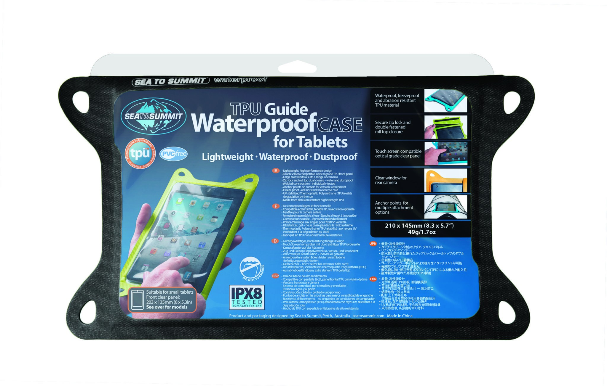 SEA TO SUMMIT TPU Guide Waterpfoof Case For Tamblets