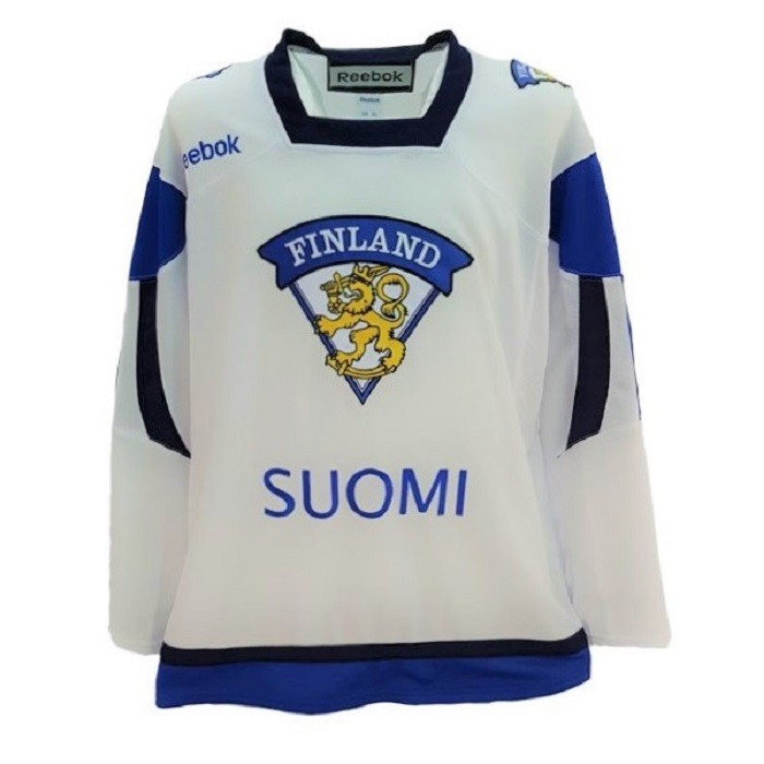 Reebok Team Finland Adult Fan Jersey Away