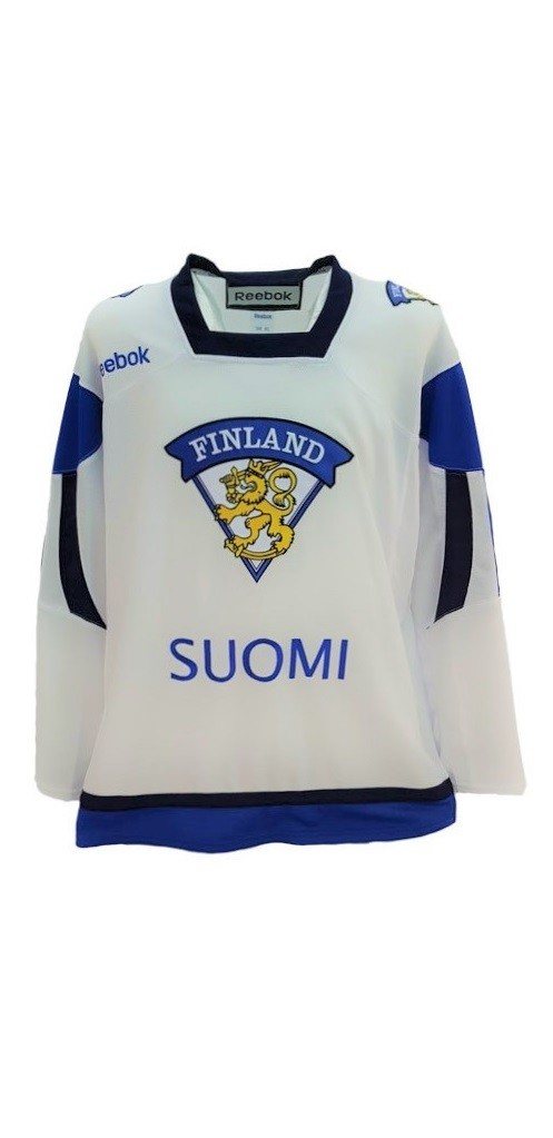 Reebok Team Finland Adult Fan Jersey Away