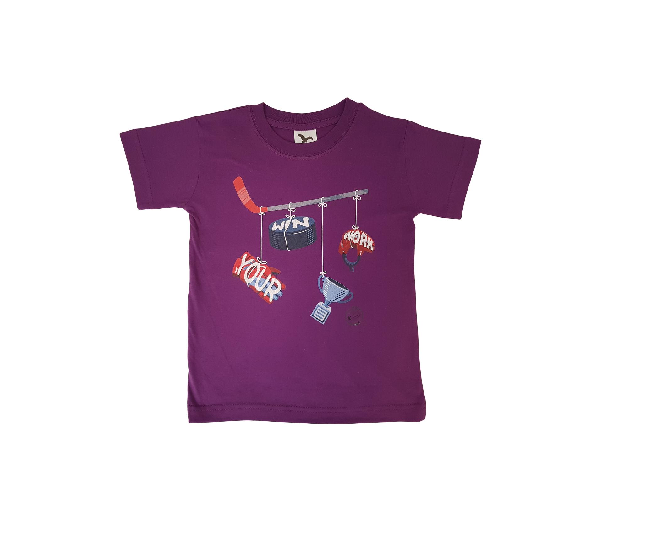 HOKEJAM.LV Your Win Work Youth T-Shirt
