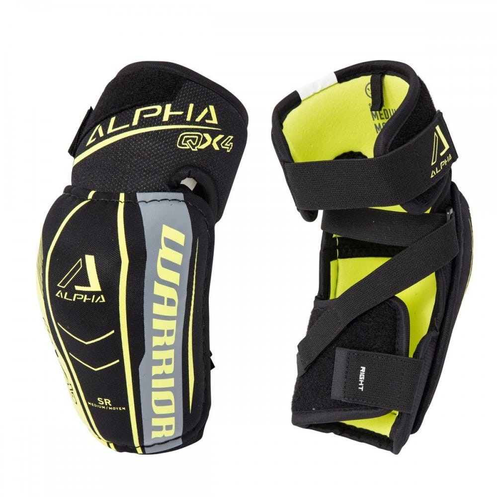 WARRIOR Alpha QX4 Senior Elbow Pads