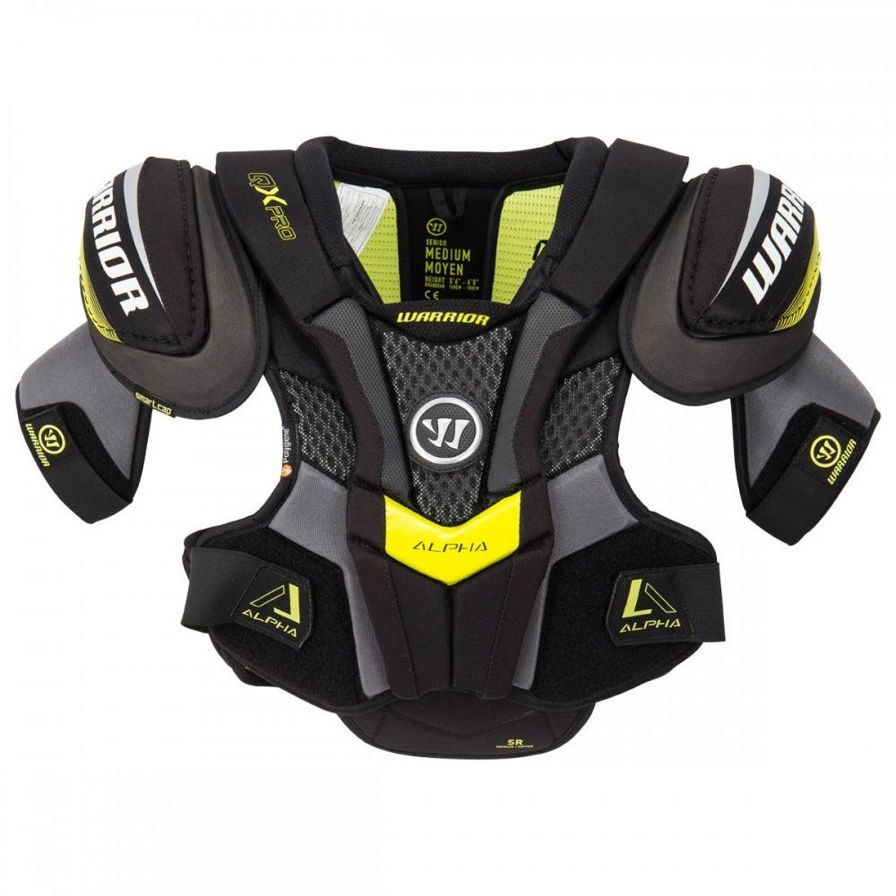 WARRIOR Alpha QX Pro Senior Shoulder Pads