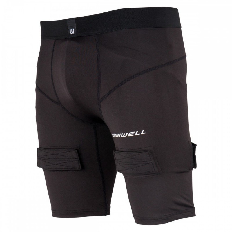 WINNWELL Senior Compression Shorts with Jock