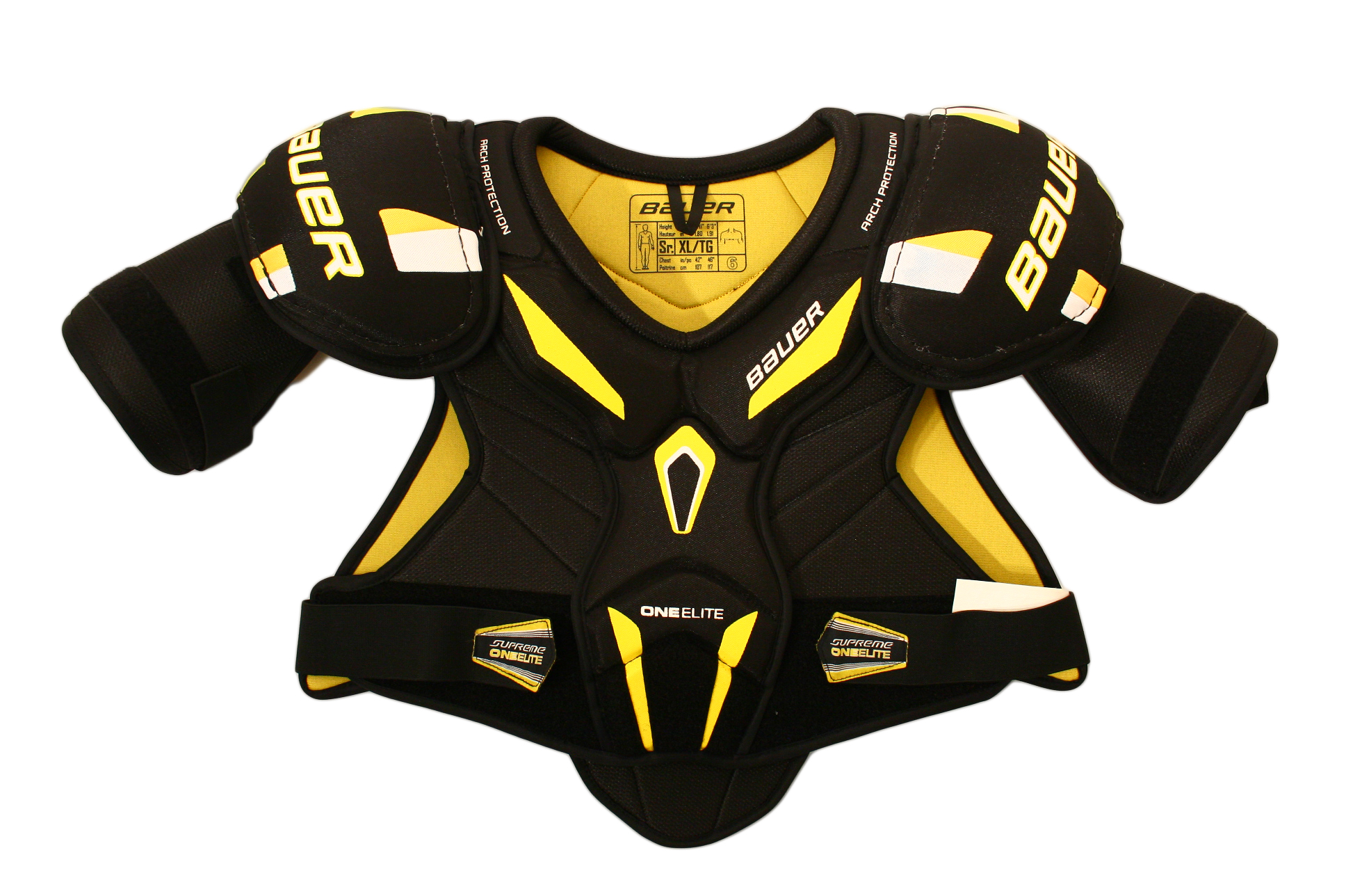 6394f728b1c Bauer supreme one elite senior shoulder pads ebay jpg 1936x1288 Ice hockey  shoulder protector