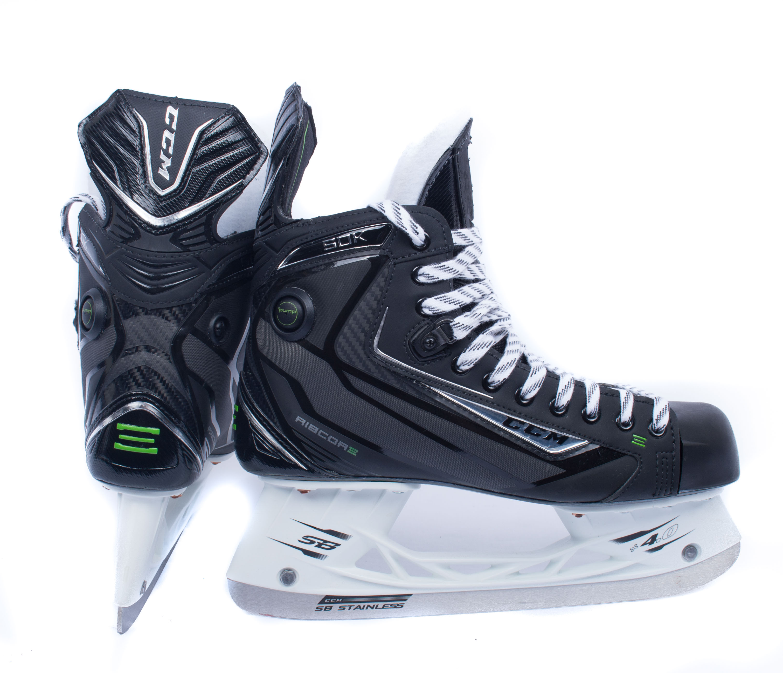 97b9c14dd11 CCM Ribcor 50K PUMP PRO STOCK Senior Ice Hockey Skates