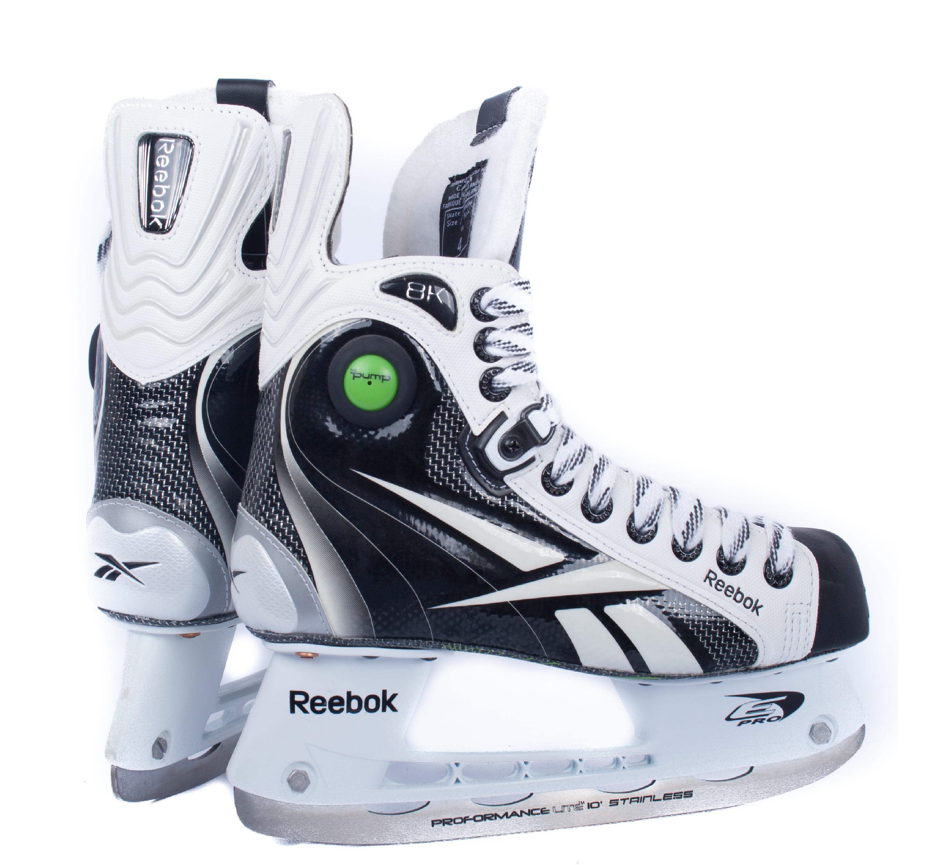 reebok 8k pump roller hockey skates